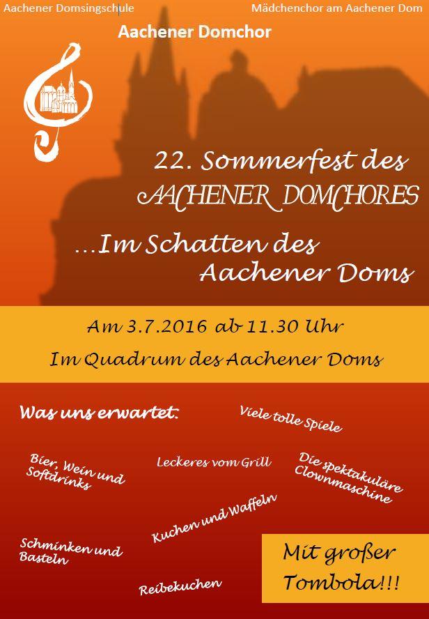 Plakat Sommerfest 2016 Homepage